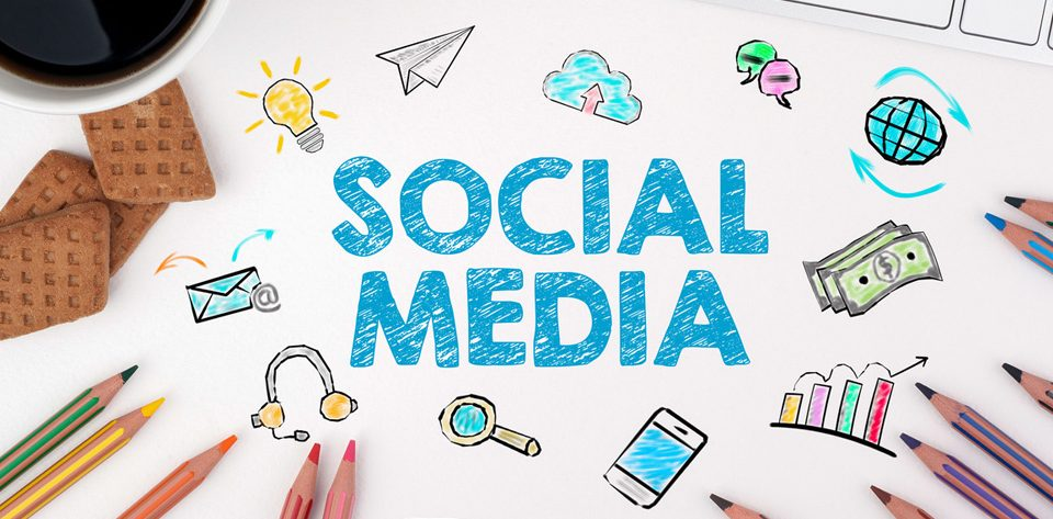 What does a social media strategy involve